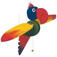 Lietajúci papagáj-veľký, 50cm (DP)