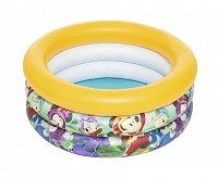 Nafukovací bazén malý - Mickey/Minnie, průměr 70 cm, výška 30 cm