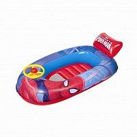 Nafukovací malý člun - Spiderman, 112x70 cm