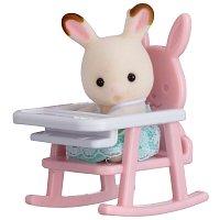 Baby příslušenství - králík v dětské židličce