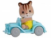 Baby příslušenství - veverka v autě