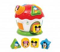Mickey - domeček s prostrkávadlem