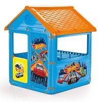 Dětský zahradní domeček, plastový Hot Wheels