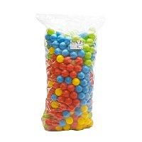 500 barevných plastových míčků - 9cm